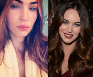 Megan Fox Celebrities Without Makeup